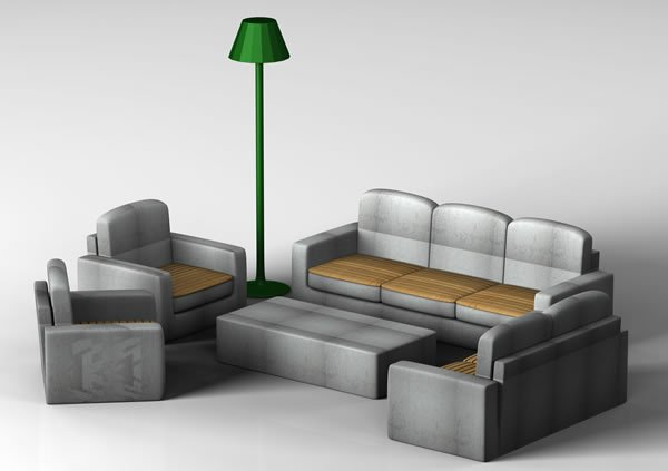 Furnitures of a Concrete City