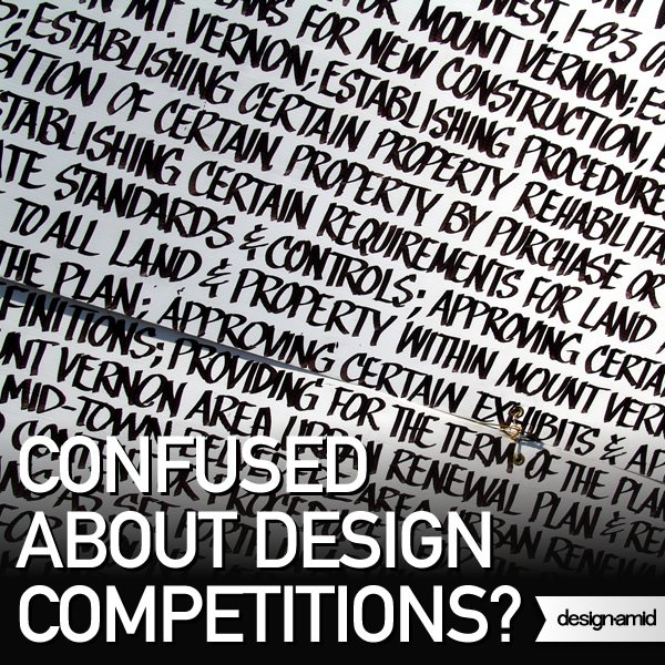 Classifications of Design Competitions : Learn What a Design Competition Really Means