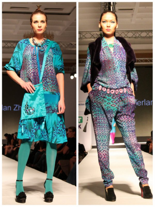 Second day of Kazakhstan Fashion Week 2012