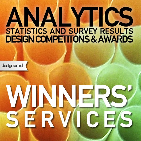Statistics on Winner Services of Design Competitions