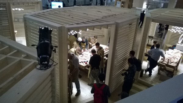 Salone del Mobile and Fuorisalone in Brera zone