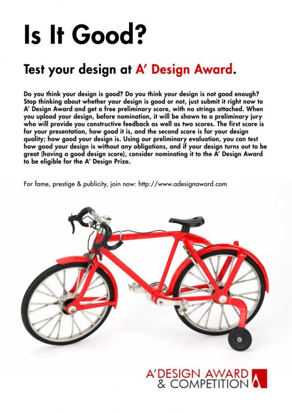 Design Award Advertisements