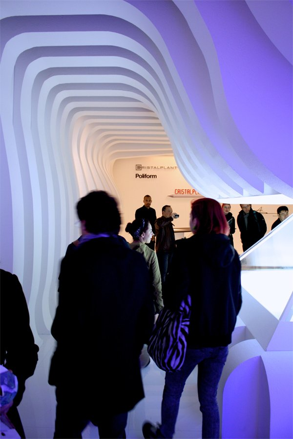 Trade Fair Stands at Salone Internazionale Del Mobile 2012