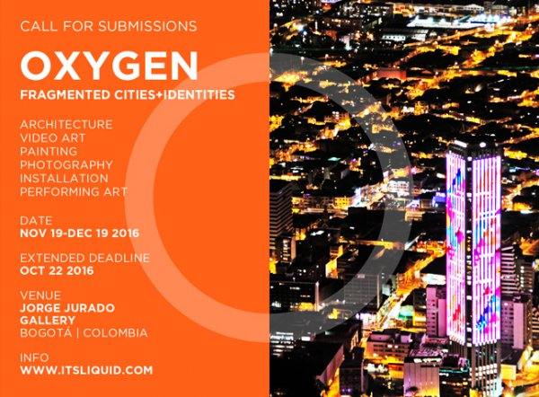 Call for submissions: OXYGEN – FRAGMENTED CITIES+IDENTITIES