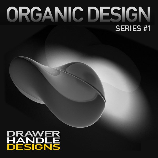 Organic Design Series - Drawer Handles